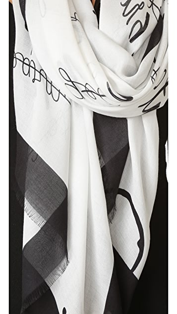 Kate Spade New York New Resolutions Scarf
