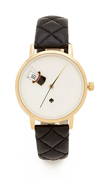 Kate Spade New York Magic Hat Quilted Metro Watch