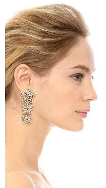 Kate Spade New York Bright Star Statement Earrings