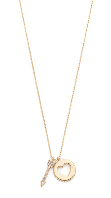 Kate Spade New York Be Mine Cluster Pendant Necklace
