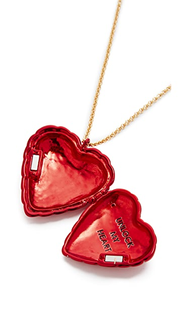Kate Spade New York Be Mine Heart Locket