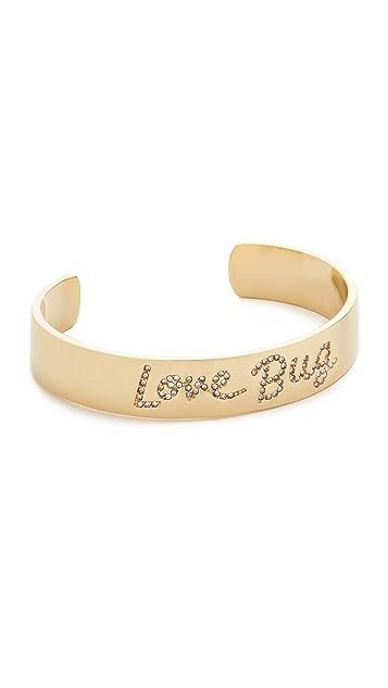 Kate Spade New York Be Mine Pave Love Cuff Bracelet