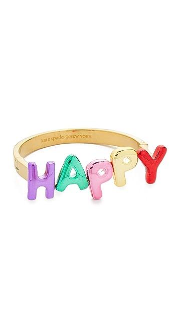 Kate Spade New York Браслет-бэнгл Whimsies Happy
