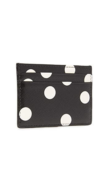 Kate Spade New York Cedar Dot Card Holder
