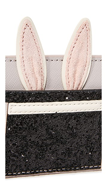 Kate Spade New York Rabbit In a Hat Card Case