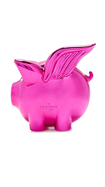 Kate Spade New York When Pigs Fly Clutch