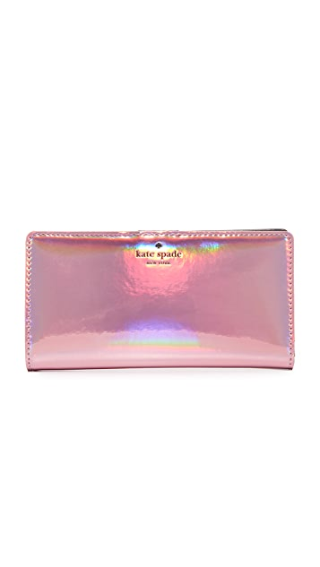 Kate Spade New York Oil Slick Stacy Wallet