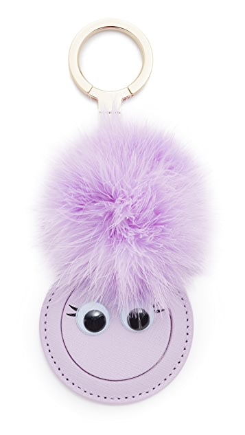 Kate Spade New York Mirror Monster Pig Key Fob