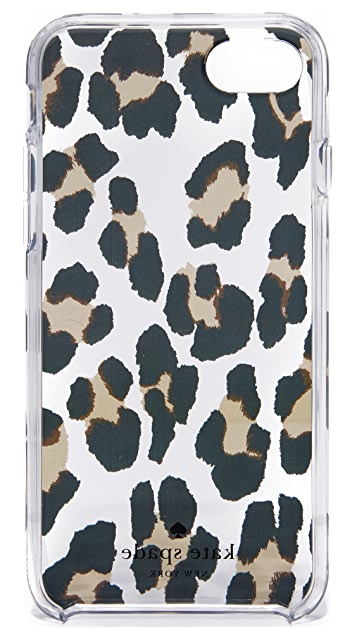 Kate Spade New York Leopard Clear iPhone 7 / 8 Case