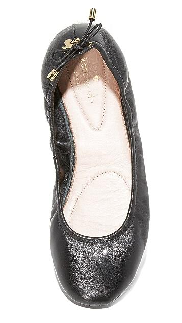 Kate Spade New York Globe Foldable Ballet Flats