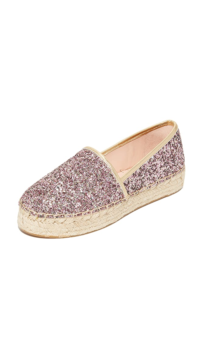 71a4cc71b3ff Kate Spade New York Linds Too Platform Glitter Espadrilles