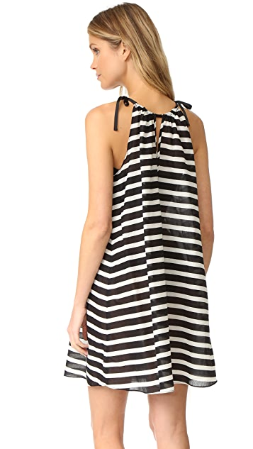 Kate Spade New York Striped Cover Up Dress