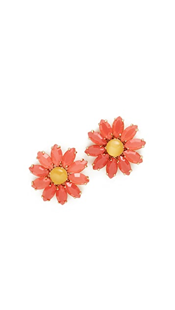 Kate Spade New York Brilliant Bouquet Statement Earrings