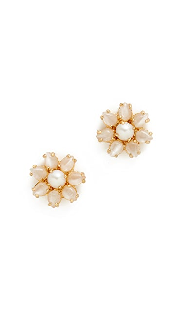 Kate Spade New York Brilliant Bouquet Stud Earrings