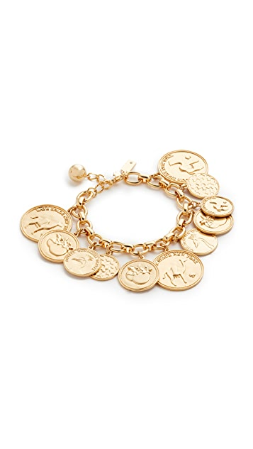 Kate Spade New York Flip a Coin Bracelet