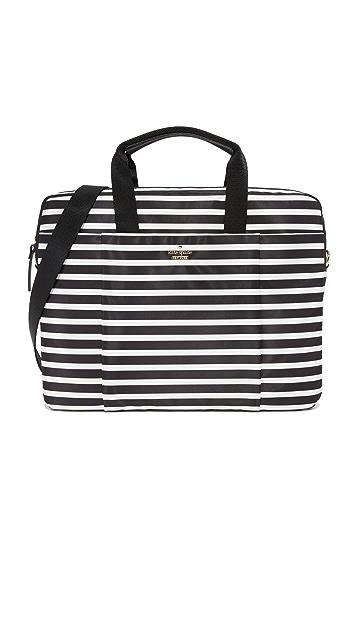 buy online 687de 353fa Stripe Nylon Laptop Bag