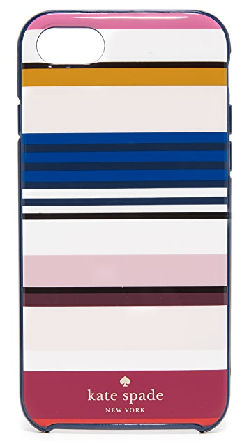 Kate Spade New York Berber Stripe iPhone 7 / 8 Case