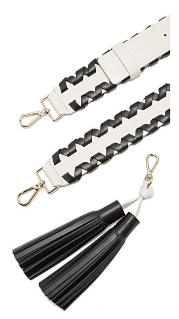 Kate Spade New York Mix It Up Tassel Guitar Strap
