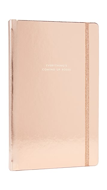 Kate Spade New York Большая записная книжка Everythings Coming Up Roses