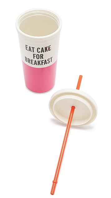 Kate Spade New York Eat Cake For Breakfast Tumbler