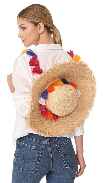 ad784dc76 Tassel Backpack Sunhat