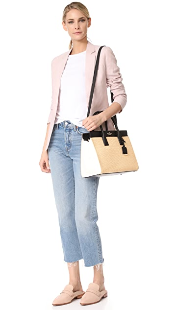 Kate Spade New York Straw Candace Satchel