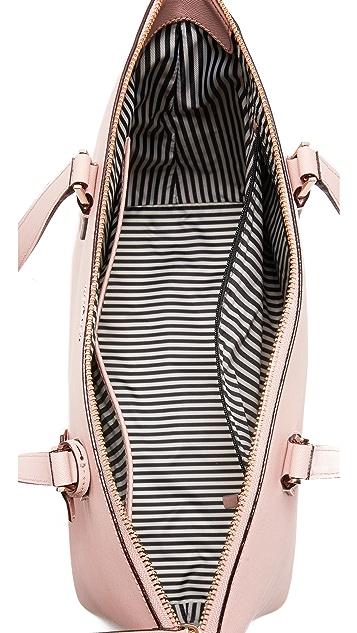 Kate Spade New York Объемная сумка с короткими ручками Lucie