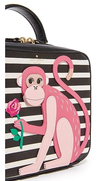 Kate Spade New York Monkey Casie Box Bag