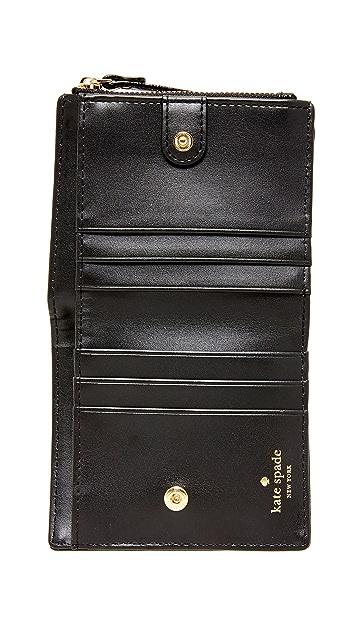 Kate Spade New York Confetti Dot Adalyn Small Wallet
