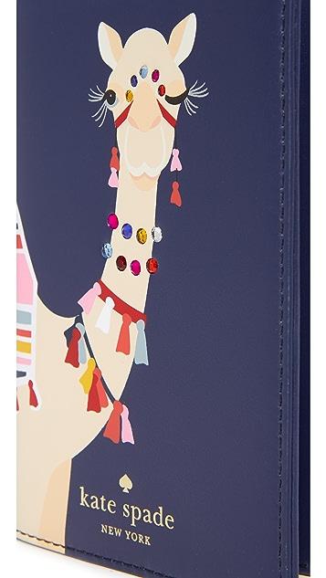 Kate Spade New York Camel Passport Holder