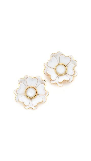 Kate Spade New York Bright Blossom Flower Stud Earrings