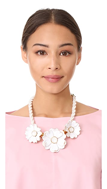 Kate Spade New York Bright Blossom Flower Statement Necklace
