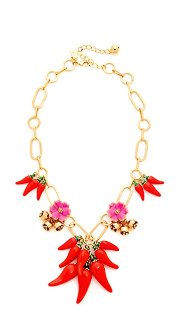 4aa09604a890d0 Kate Spade New York Pepper Statement Necklace | SHOPBOP