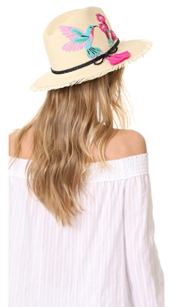 Kate Spade New York Hummingbird Trilby Hat
