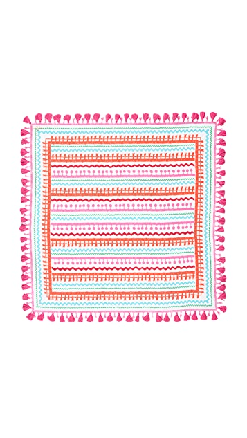 Kate Spade New York Ric Rac Square Scarf