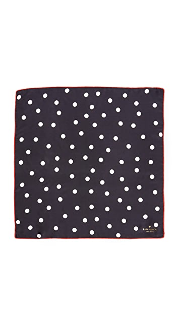 Kate Spade New York Dancing Dot Bandana