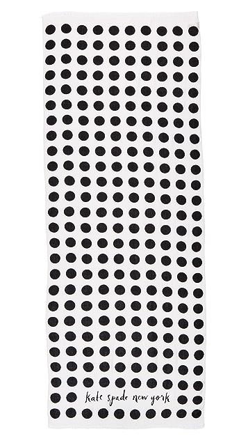 Kate Spade New York Grid Dot Oblong Scarf