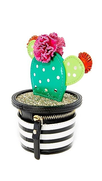 Kate Spade New York 3D Cactus Coin Purse