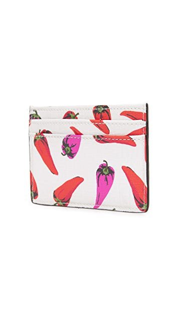 Kate Spade New York Hot Pepper Card Holder