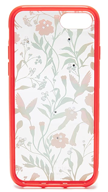 Kate Spade New York Jeweled Jardin Clear iPhone 7 / 8 Case