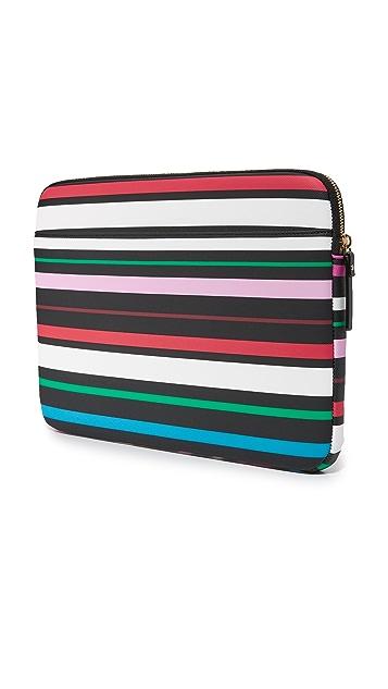 Kate Spade New York 13 inch Fiesta Stripe Laptop Sleeve