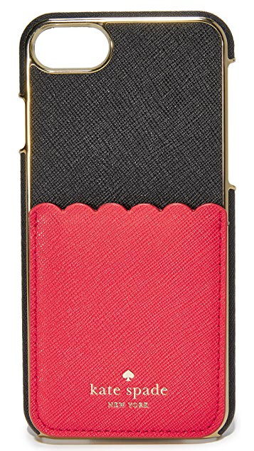 Kate Spade New York Scallop Adhesive Phone Pocket