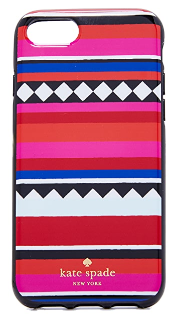 Kate Spade New York Geo Stripe iPhone 7 / 8 Case