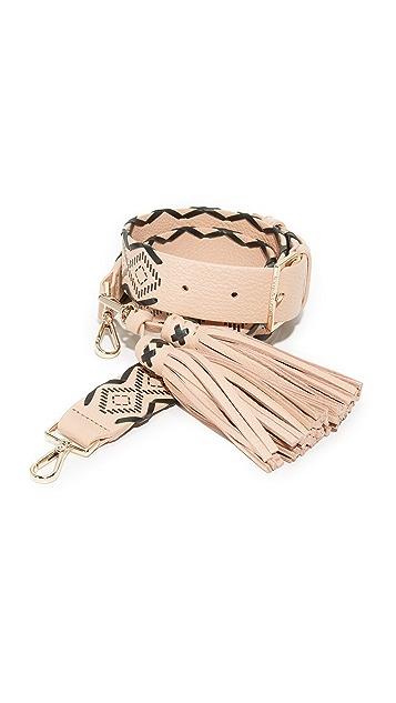 Kate Spade New York Woven Tassel Strap