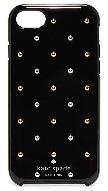 Kate Spade New York Larabee Dot Mini Stud iPhone 7 / 8 Case