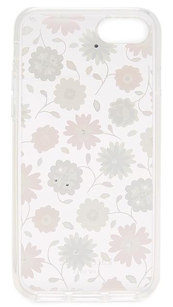 Kate Spade New York Jeweled Casa Flora iPhone 7 / 8 Case