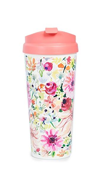 Dahlia Thermal Mug by Kate Spade New York