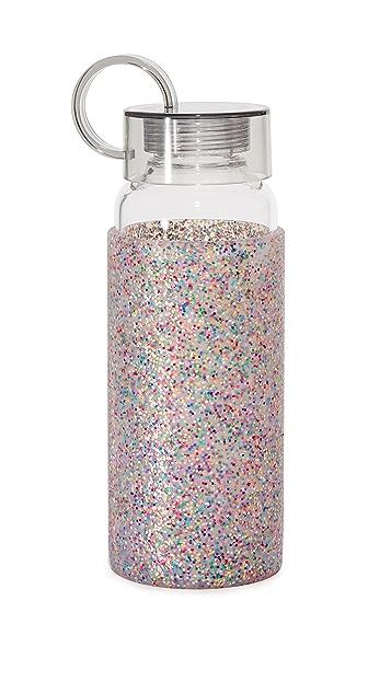 Kate Spade New York Multi Glitter Water Bottle