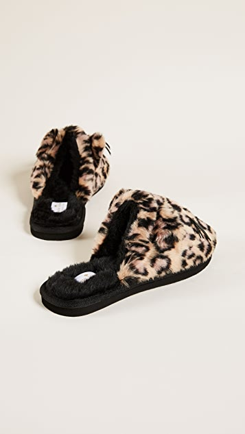 Kate Spade New York Belindy Plush Slippers