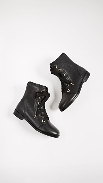 Kate Spade New York Raquel Lace Up Combat Boots